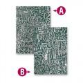 Папка для тиснення Numbers and Letters, 19.5 х 13.5 см, Spellbinders, EL-027