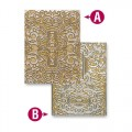 Папка для тиснения Decorative Fancy Tags Two, 12.7 х 17.8 см, Spellbinders, EL-034