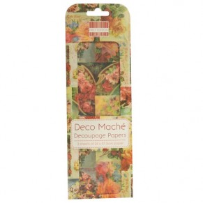 Бумага для декупажа Deco Maché – Vintage Roses, First Edition, FEDEC002