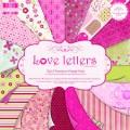 Набор бумаги Love Letters, 16 листов, 30х30 см, First Edition, FEPAD007
