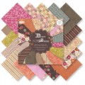 Набор бумаги Desert Blooms 20х20см, 16 листов, First Edition, FEPAD011