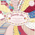 Набор бумаги Family Ties, 15х15см, 16 листов, First Edition, FEPAD043