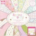 Набор бумаги Spring Drop, 20x20 см, 16 листов, First Edition, FEPAD045
