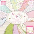 Набор бумаги Spring Drop, 15x15 см, 16 листов, First Edition, FEPAD046