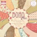 Набор бумаги для скрапбукинга BOHO Chic, 16 листов,15х15 см, First Edition, FEPAD049