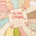Набор бумаги Blank Canvas, 15х15см, First Edition, FEPAD052