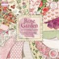 Набор бумаги Rose Garden, 30×30 см, 16 листов, First Edition, FEPAD059