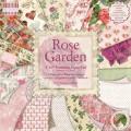 Набор бумаги Rose Garden, 20×20 см, 16 листов, First Edition, FEPAD060