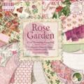 Набор бумаги Rose Garden, 15×15 см, 16 листов, First Edition, FEPAD061