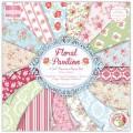 Набор бумаги First Edition Floral Pavilion, 30x30 см, FEPAD063
