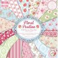 Набор бумаги Floral Pavilion, 20×20 см, First Edition, FEPAD064