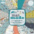 Набор бумаги Man Made, 20×20 см, First Edition, FEPAD070