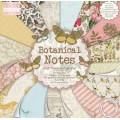 Набор бумаги Botanical Notes, 15×15 см, First Edition, FEPAD089