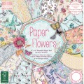 Набор бумаги Paper Flowers, 20×20 см, First Edition, FEPAD094
