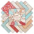 Набор бумаги Christmas Joy, 20х20 см, 16 листов, First Edition, FEXPAD05