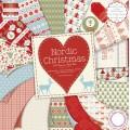 Набор бумаги Nordic Christmas, 30×30 см, First Edition, FEXPAD13