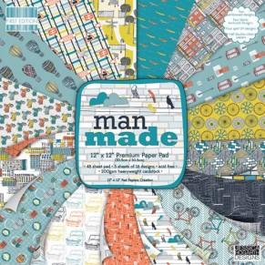 Набор бумаги Man Made, 30×30 см, First Edition, FEXPAD19