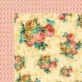Лист бумаги Floral, 30х30см, MME, FLY102