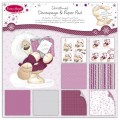 Набор бумаги Fizzy Moon Decoupage and Paper Pad - Contemporary Christmas, 20х20 см, FZXDG06