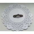 Ручка декоративная для комодов, шкатулок, бронза,37x10 мм