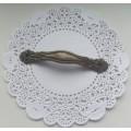 Ручка декоративная для декупажа/комодов, бронза, 65x12 мм