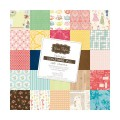 Набор бумаги Vintage, 25 листов, 30x30 см, Grace Taylor, GT959