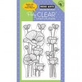 Акриловые штампы Delicate Blossoms, Hero Arts, HA-CL449