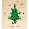 Резиновый штамп Whimsical Christmas №1, Hampton Art, HA01