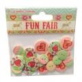 Пуговицы деревянные Fun Fair, Helz Cuppleditch, HCBN006
