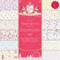 Набор бумаги The London Line, 12 листов,  20×20, Helz Cuppleditch, HCDP010