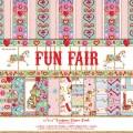 Набор бумаги Fun Fair, 30х30 см,12 листов, Helz Cuppleditch, HCDP016