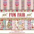 Набор бумаги Fun Fair, 20х20 см, 12 листов,  Helz Cuppleditch, HCDP017