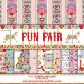 Набор бумаги Fun Fair, 15х15 см, 12 листов, Helz Cuppleditch, HCDP018