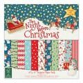 Набор бумаги The Night Before Christmas, 30x30 см, Helz Cuppleditch, HCPAP001X15