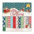 Набор бумаги The Night Before Christmas, 20×20 см, Helz Cuppleditch, HCPAP002X15