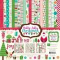 Набор бумаги Holly Jolly Christmas, 30х30 см, Echo Park, HJ20016