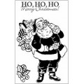 Акриловый штамп  Santa, Hot Off The Press, HOTP-1072
