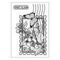 Акриловый штамп Postage Stamp, Hot Off The Press, HOTP-1094