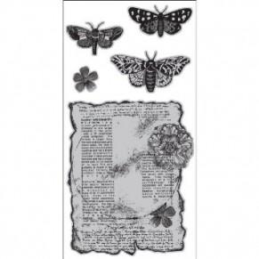 Штампы резиновые Butterflies, Hampton Art, ICO153