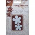 Нож Vintage Flourishes Flowers, Joy! Craft Dies, J001