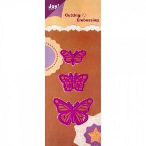 Ножи Joy, Craft Cut and Emboss Dies - Butterflies, J002