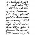 Папка для тиснения Script, Kaisercraft, KC248