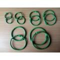 Кольца для альбомов, цвет зеленый, диаметр от 2 до 5 см