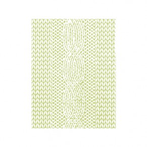 Папка для тиснения Knitted Pattern, Richard Garay, LJEF-001