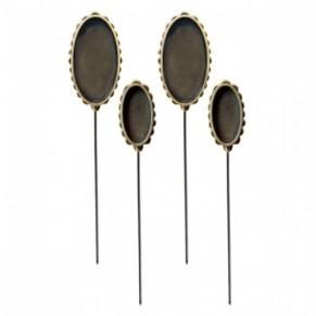 Металлические формы Oval Hatpin, Media Mixáge™, Spellbinders, MB3-002S