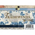 Набор бумаги Tradewinds, 11,5 х 16,5 см, 72 листа, DCWV, MS-003-00082