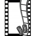 Папка для тиснения Movie Theme, Darice Embossing Folder