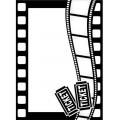 Папка для тиснения Movie Theme, Darice Embossing Folder