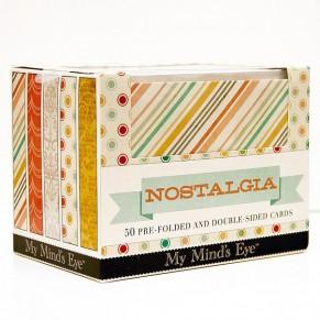 Заготовки для открыток с конвертами  Nostalgia Boxed Cards, My Mind's Eye, NOSCP1