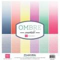 Набор бумаги Ombre, 30х30 см, 12 листов, Echo Park, OMB11016